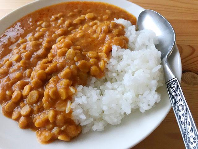 無印の豆カレー