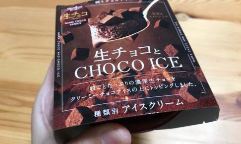 生チョコとCHOHO ICE
