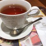 カフェドクリエで紅茶