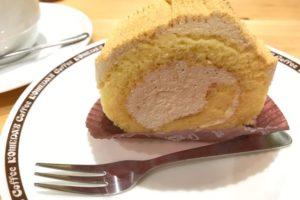 ココメダのきな粉ロールケーキ