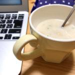 インスタントのカップスープ
