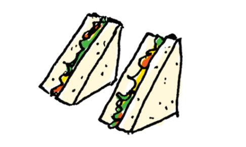 サンドイッチのイラスト