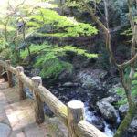 箕面の滝道