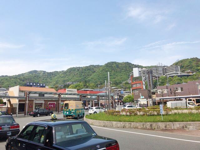 阪急箕面駅前