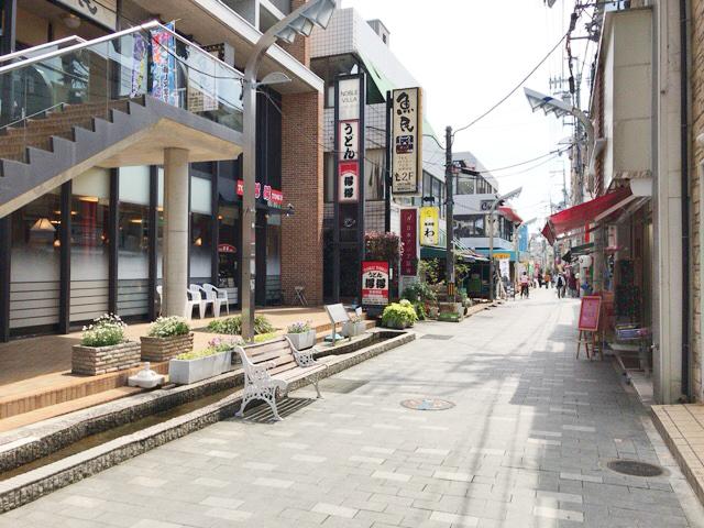 阪急箕面駅の近く