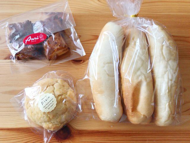 パン工房アンリのパン