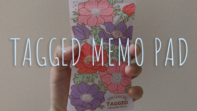 TAGGED(タグド)メモパッド