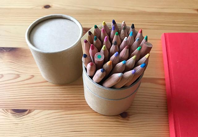 無印の色鉛筆