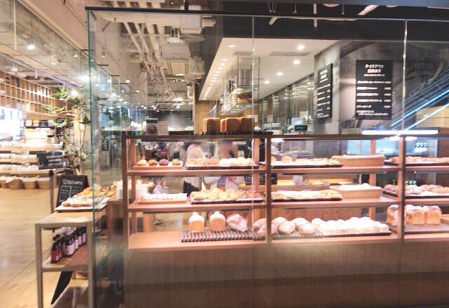 無印良品のカフェ Cafe&Meal MUJIのパン屋