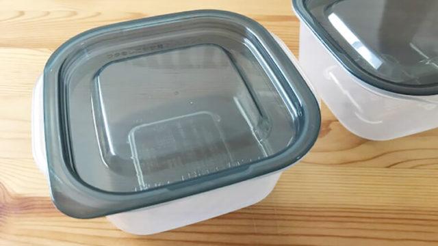 セリアの保存容器