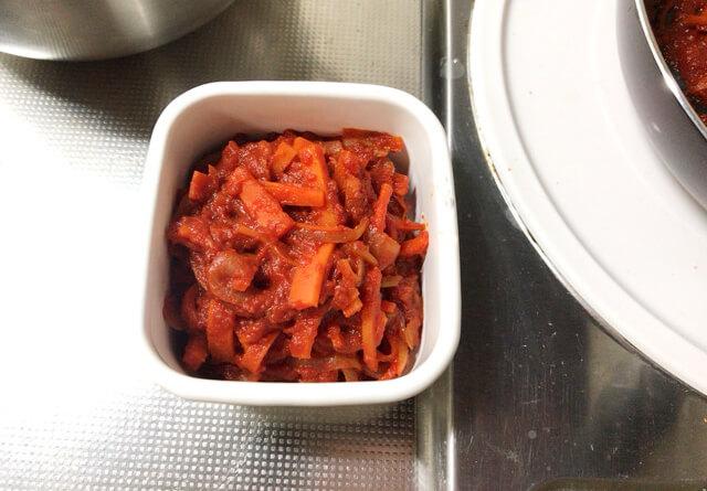 トマトソース作り置き